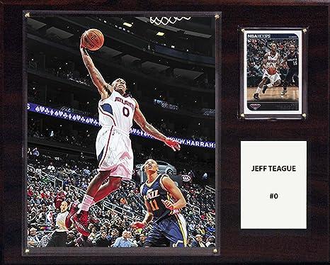 Amazoncom Nba Atlanta Hawks Jeff Teague Player Plaque 12 X 15