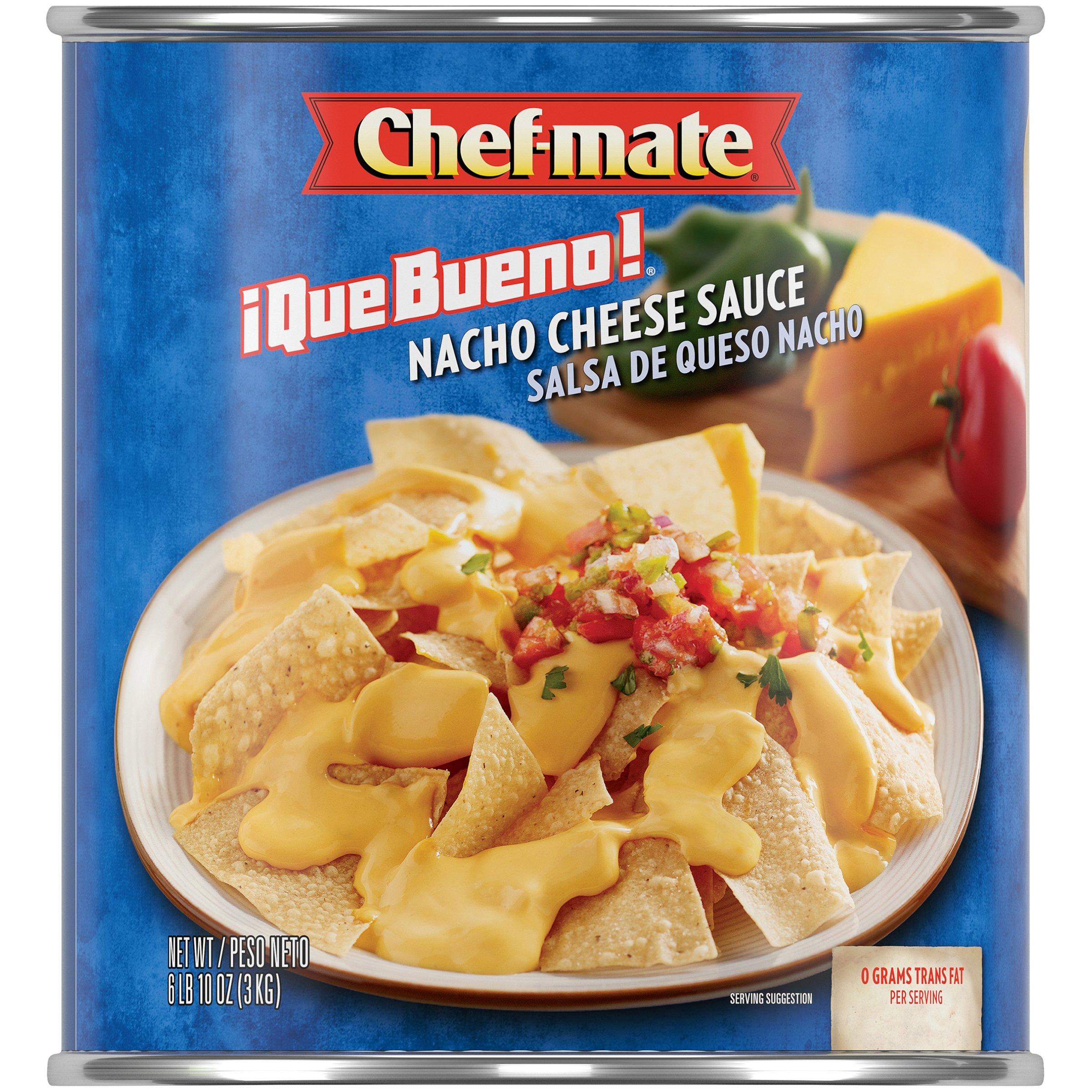 Amazon Com Ortega Que Bueno Nacho Cheese Sauce 6 Lb 10 Oz
