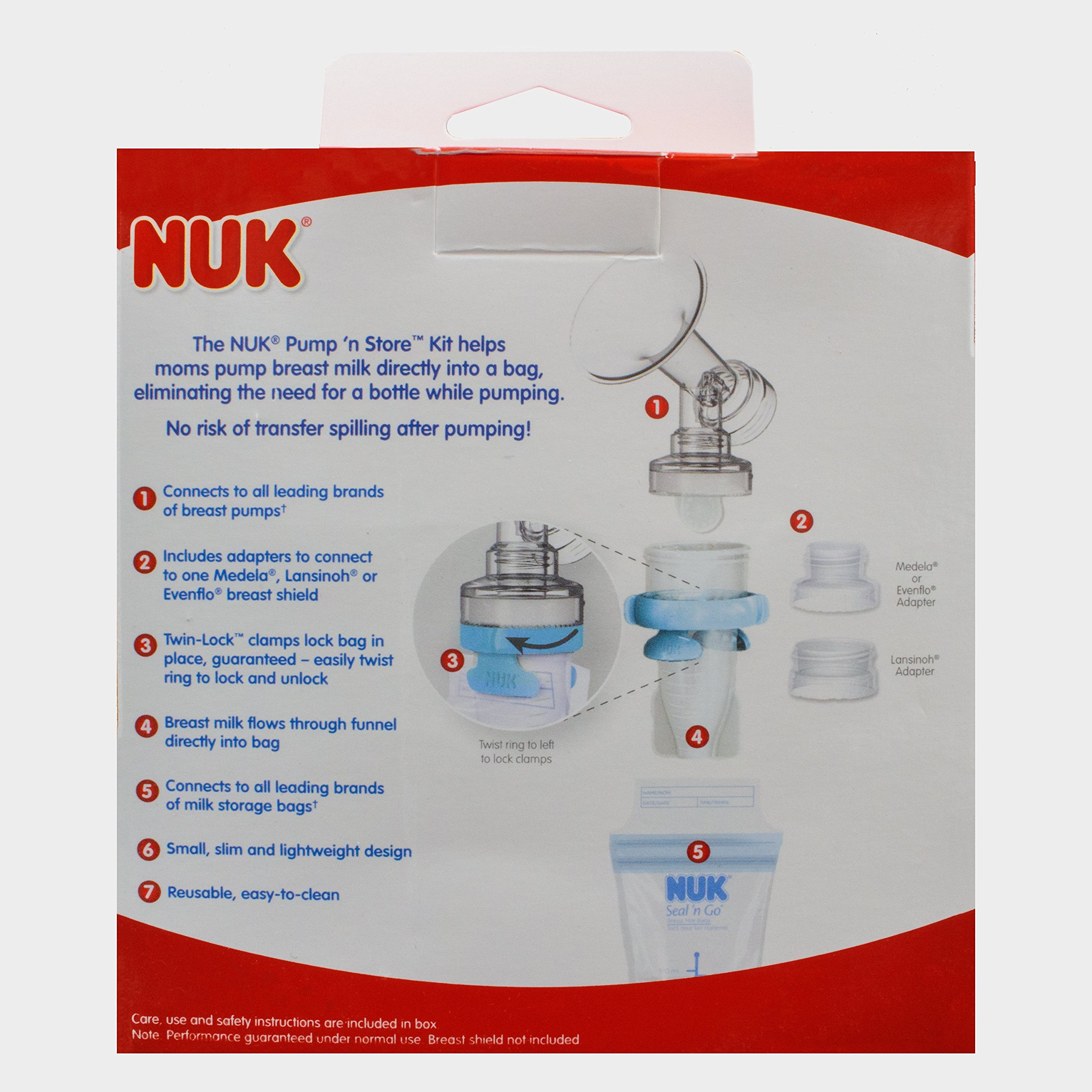 NUK Expressive Double Electric Breast Pump by NUK (Image #1)