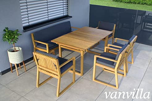 Amazon.De: Vanvilla Gartenmöbel Set Holz Sitzgruppe Garten
