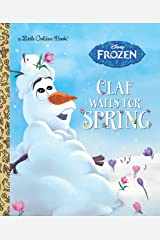 Olaf Waits for Spring (Disney Frozen) (Little Golden Book) Hardcover