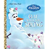 Olaf Waits for Spring (Disney Frozen) (Little Golden Book)