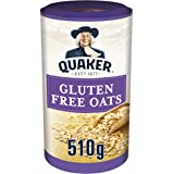Quaker Oats Gluten Free Whole Grain Rolled Oats, 510 g, Pack of 5