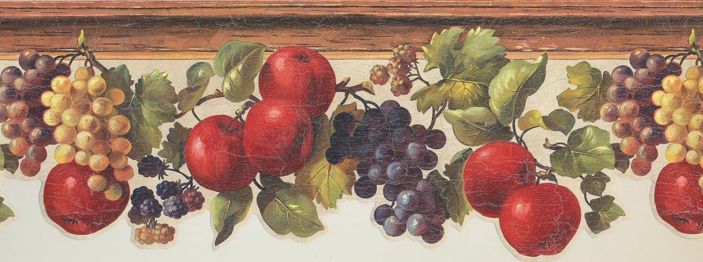 Wallpaper Border Fruits Prepasted Wall Border 7133 KH