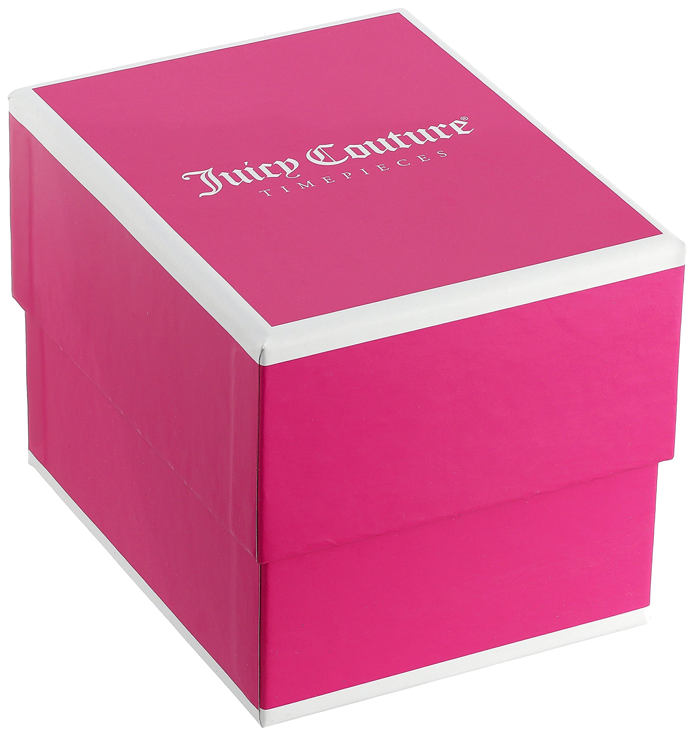 Juicy Couture Women's 1901375 Cali Analog Display Japanese Quartz Silver-Tone Watch by Juicy Couture (Image #3)