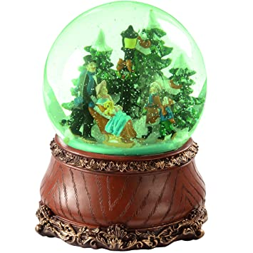 Amazon.de: WeRChristmas 50, 8 cm Village Musical animierte ...