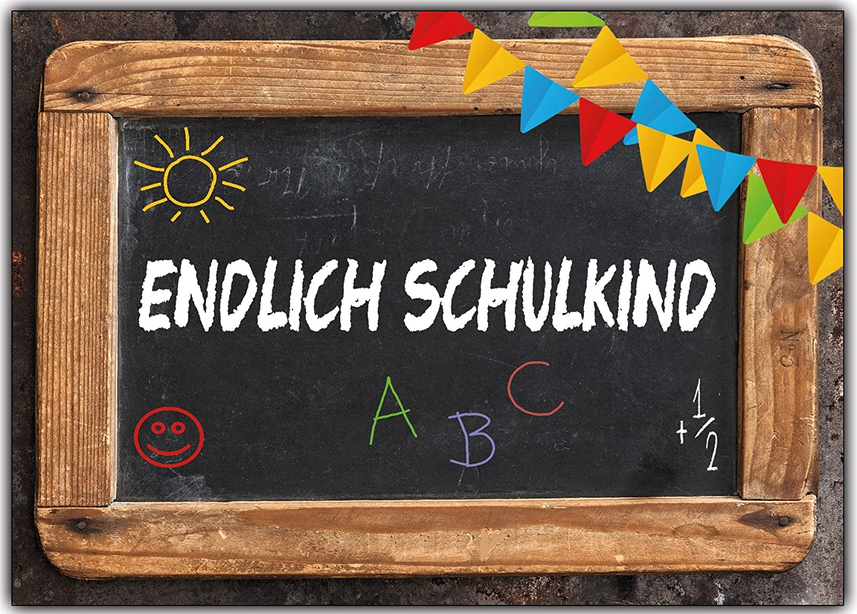 Einladungskarten zur Einschulung Schulanfang Schule Einladung ... - Schulanfang Einladungskarten