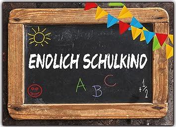 Einladungskarten Zur Einschulung Schulanfang Schule Einladung Karten  Schultafel 8 Stück