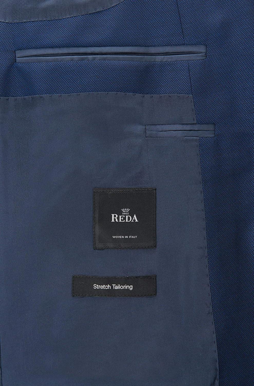 be797946b Hugo Boss Mens Huge/Genius Slim Fit Blue Stretch Tailoring Virgin Wool Suit  Size 42R ...