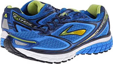Brooks Ghost 7, Zapatillas de Running para Hombre, Plateado (Silber/Schwarz/Rot 959), 47.5 EU: Amazon.es: Zapatos y complementos