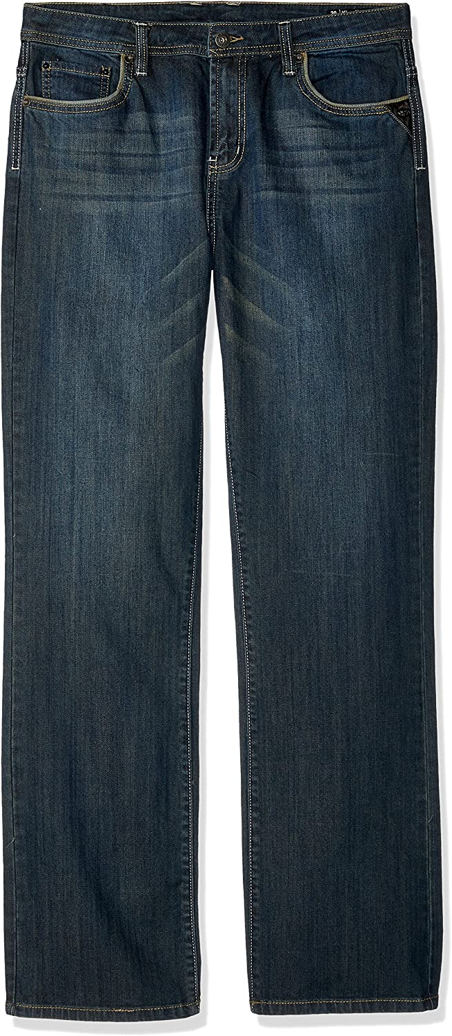 Buffalo David Bitton Boys King-X Slim Fit Boot Cut Denim with Stretch