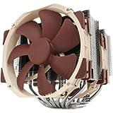 Noctua NH-D15, Premium CPU Cooler with 2x NF-A15 PWM 140mm Fans (Brown)