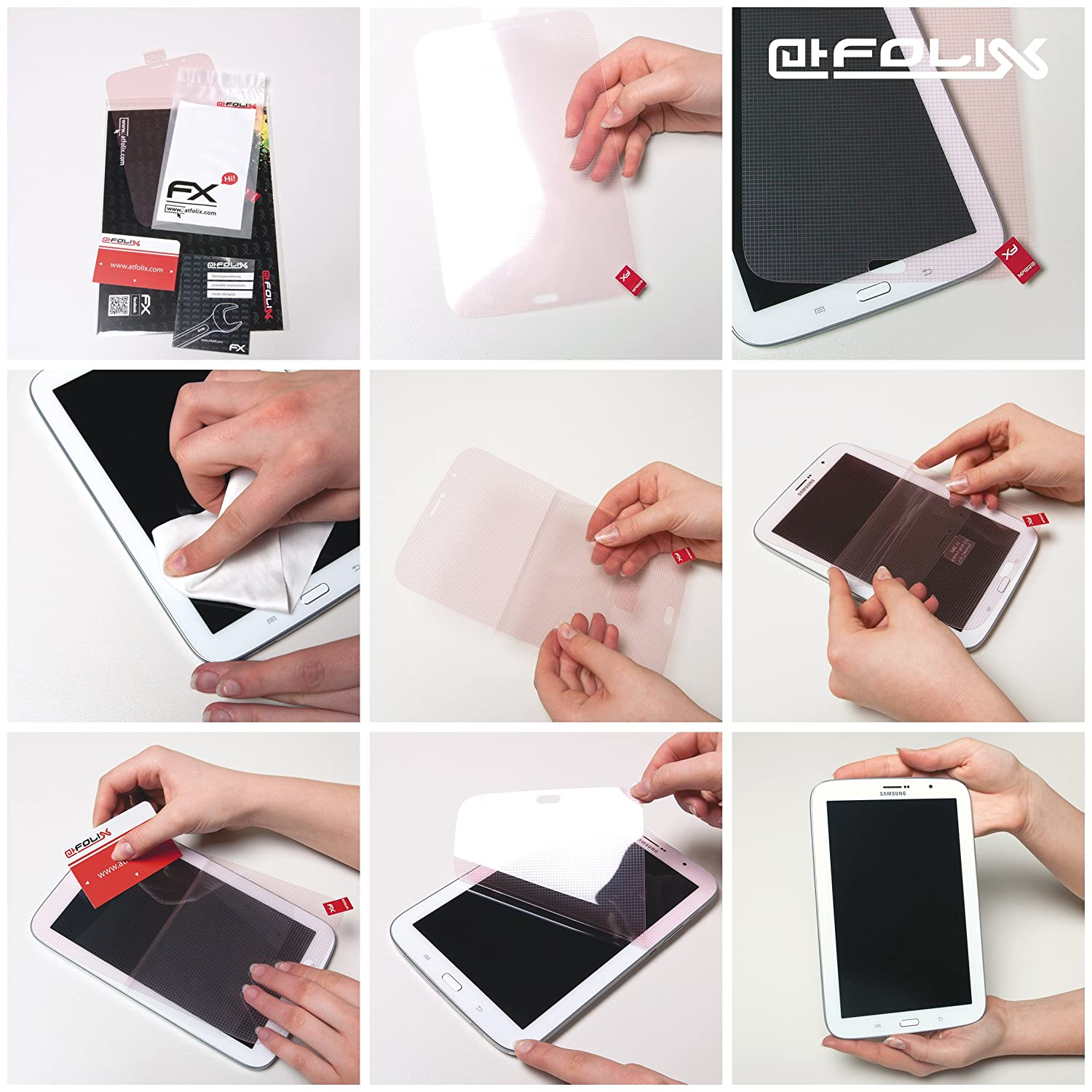 atFoliX Screen Protection Film compatible with Huion GT-191 Screen Protector ultra-clear FX Protective Film 2X