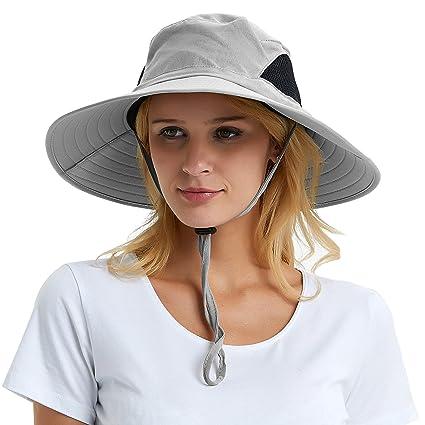 Sombrero de sol de ala ancha de los hombres cc6b290973c