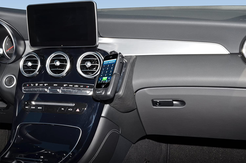 KUDA 2265 Halterung Kunstleder schwarz f/ür Mercedes GLC ab 2016 X253