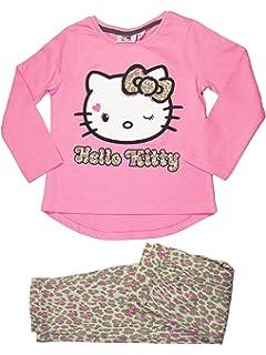 Oficial de Hello Kitty niña pijama conjunto 3 años, 4 años