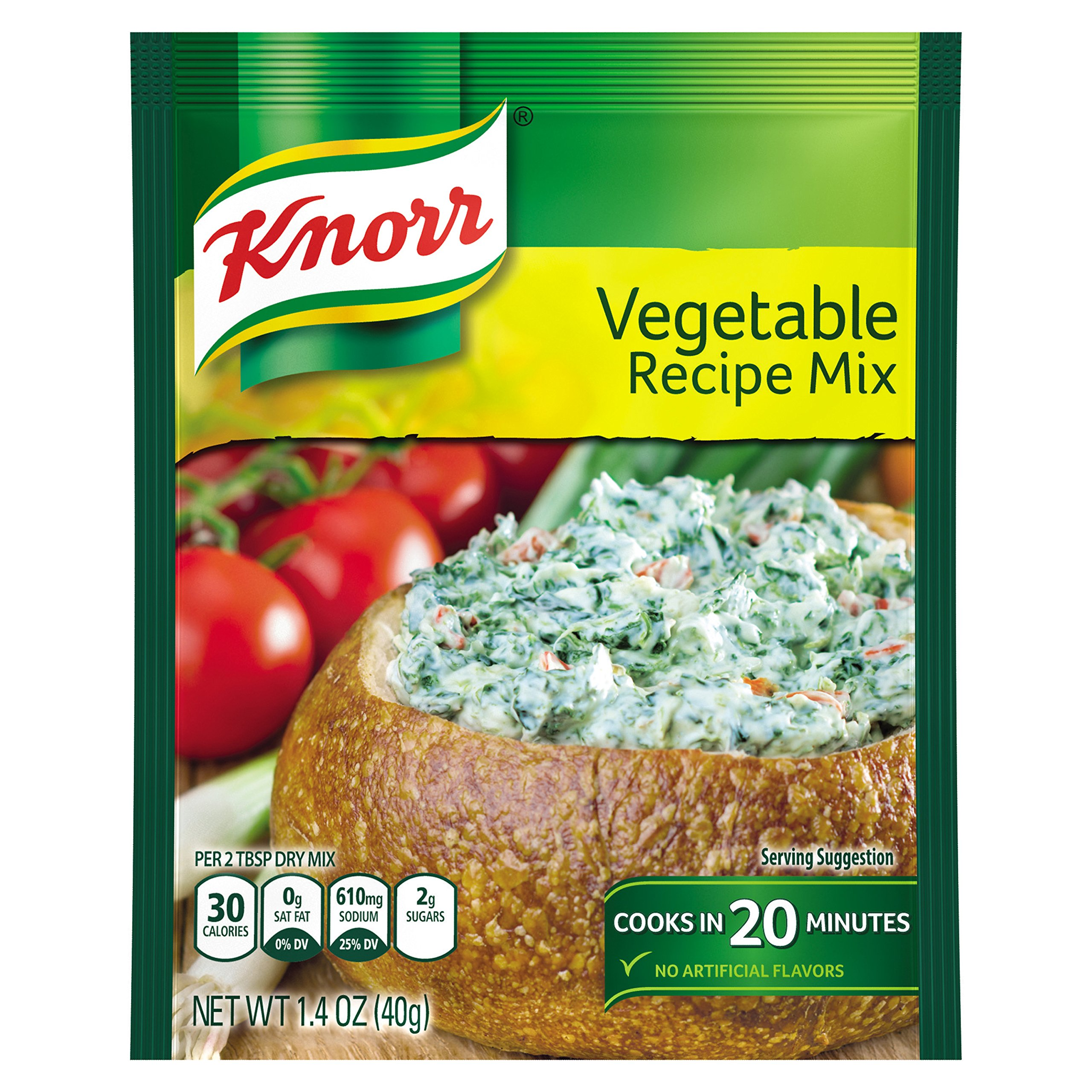 Knorr Recipe Mix, Vegetable, 1.4 oz