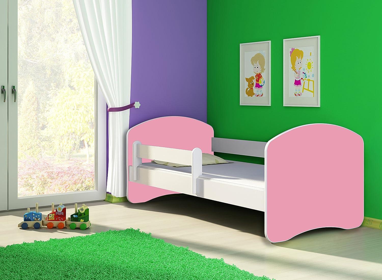 ACMA II TODDLER CHILDREN KIDS BED 140x70 cm + drawer, White - Wenge Wood FREE MATTRESS DRAWER WHITE 140x70 160x80 180x80