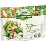 Cascadian Farm Organic California-Style Blend, Frozen Vegetables, 10 oz Bag
