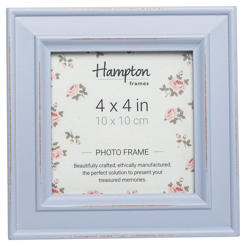 Hampton Frames Bilderrahmen Paloma quadratisch, Holz, lila, 14,5 x ...