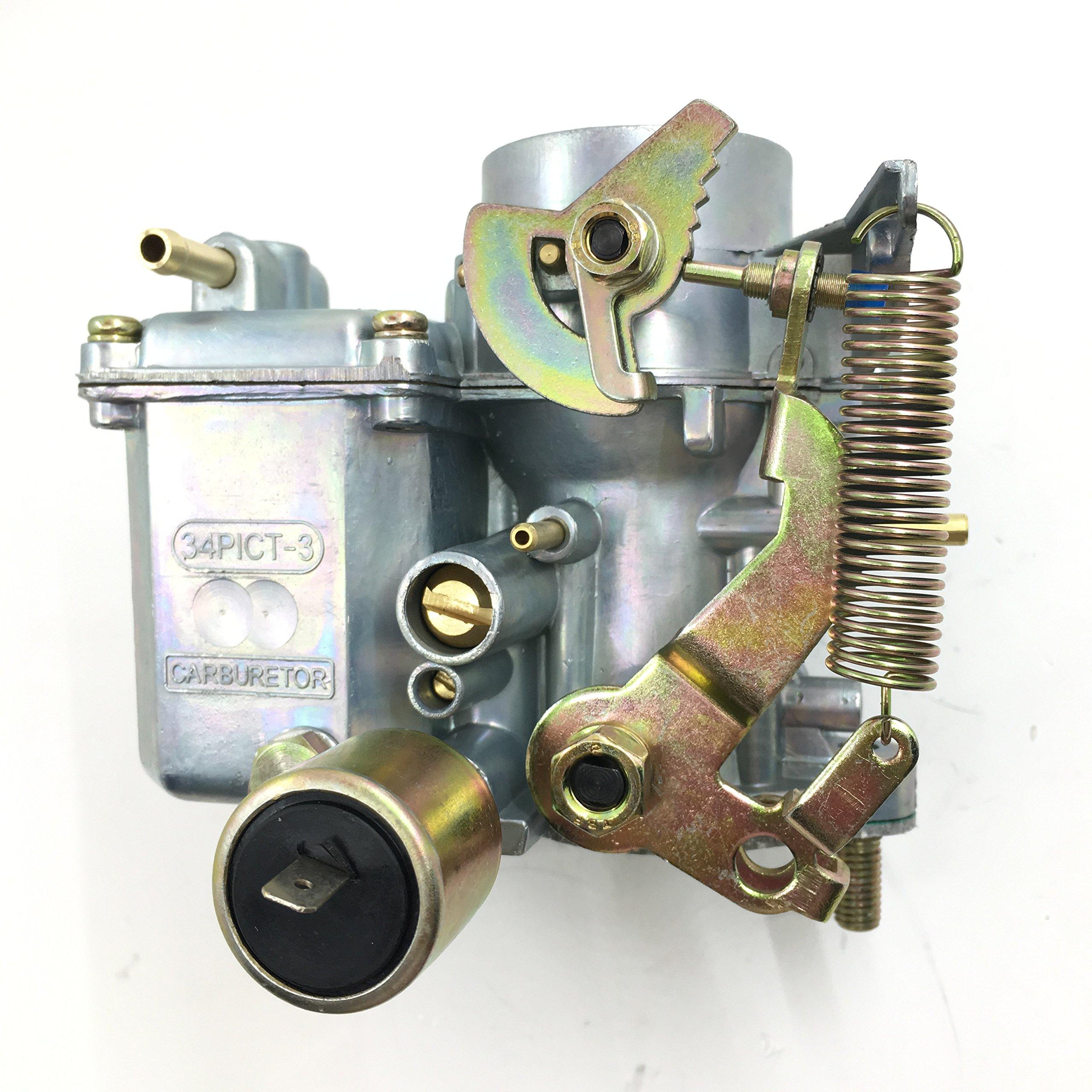 Carburetor For VW Volkswagen 34 PICT-3 12V Electric Choke 113129031K 1600cc