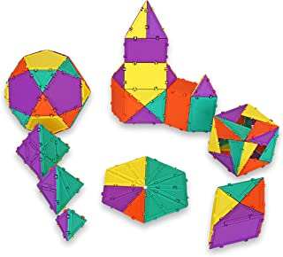 product image for Geometiles 3D Building Set for Learning Math, Includes Many Online Activities, 96-pc, Made in USA