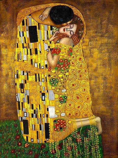 Gustav Klimt Judith Canvas Wall Art Print Poster Magnetic Hanger 24x12 Inch
