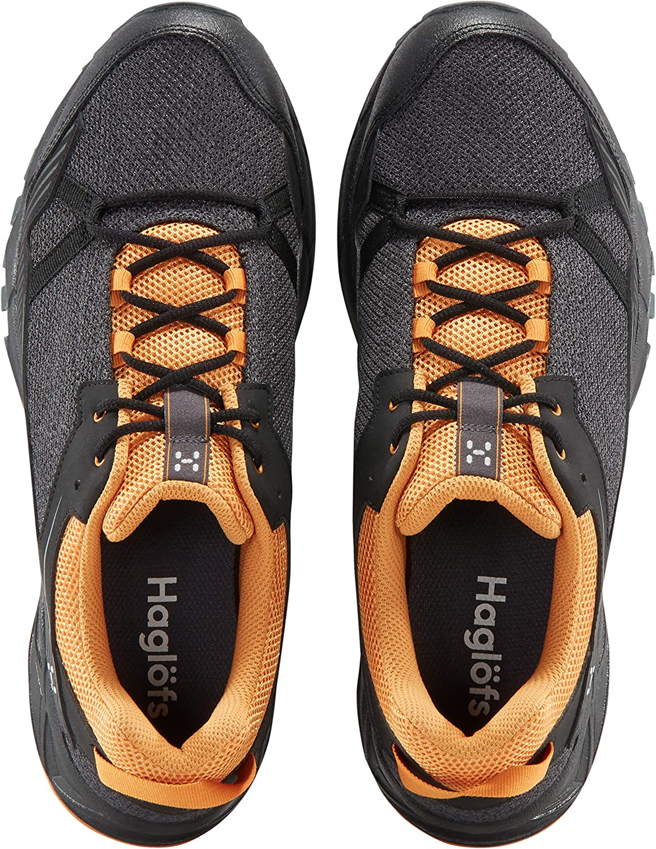 Haglofs Mens Trail Fuse Walking Shoes Black Sports Outdoors Breathable