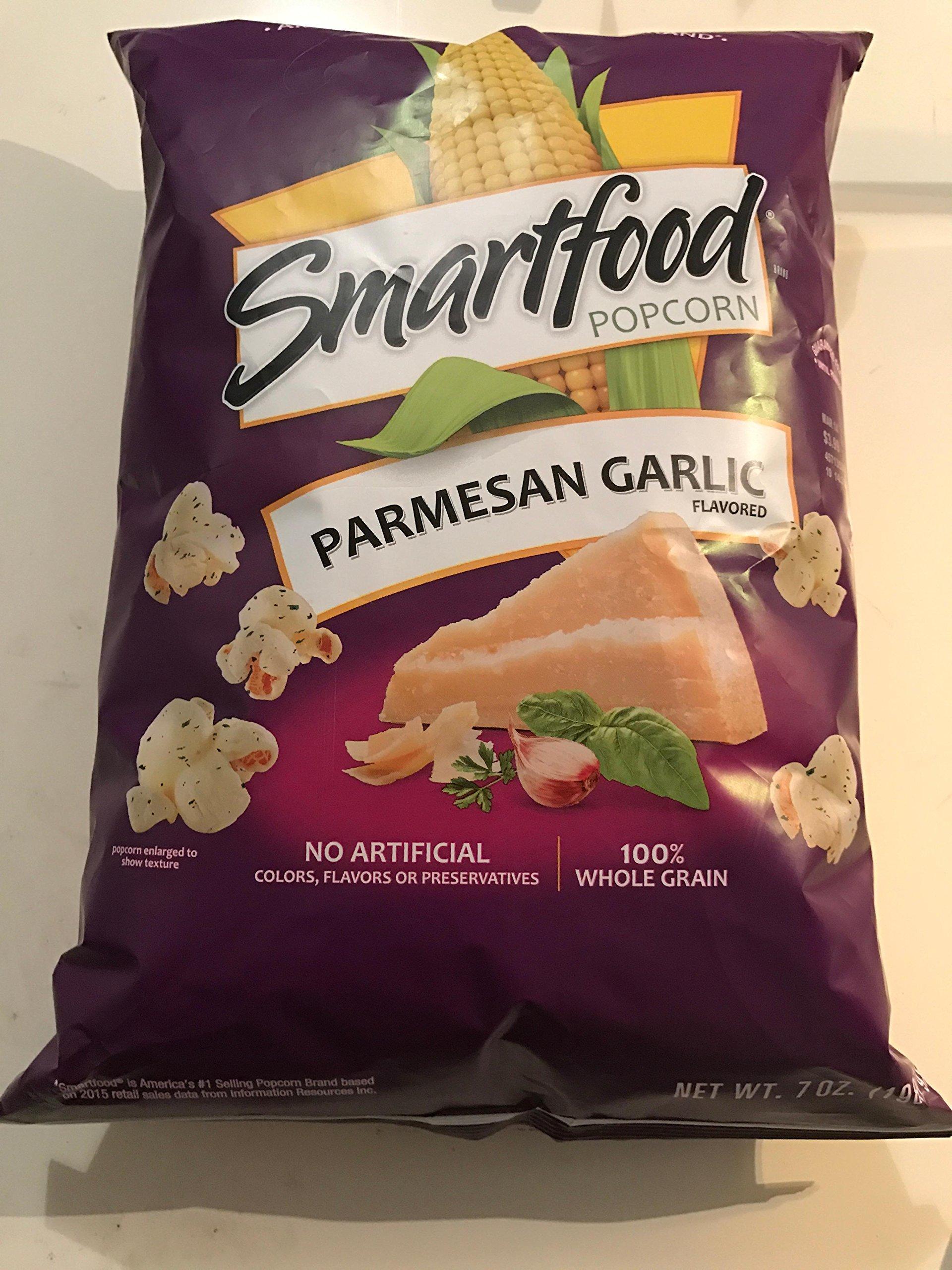 Smartfood Parmesan and Garlic Flavored Popcorn, 7 Ounce by Smartfood