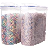 Biokips Cereal Container Airtight Watertight Cereal Keeper 16.9 Cup 135.2oz (2)