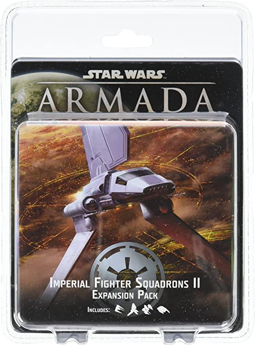 Fantasy Flight Games Star Wars Armada Imperial Fighter Squadrons II - English: Amazon.es: Juguetes y juegos