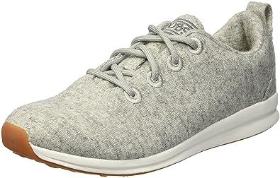 9d534dd461b25 Skechers Women's Bobs Phresh-Lil Flash. Boiled Wool Oxford W Memory Foam  Sneaker