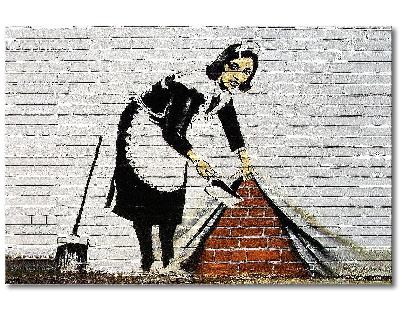 """Das Leinwandbild /""""Banksy No.6/"""""""