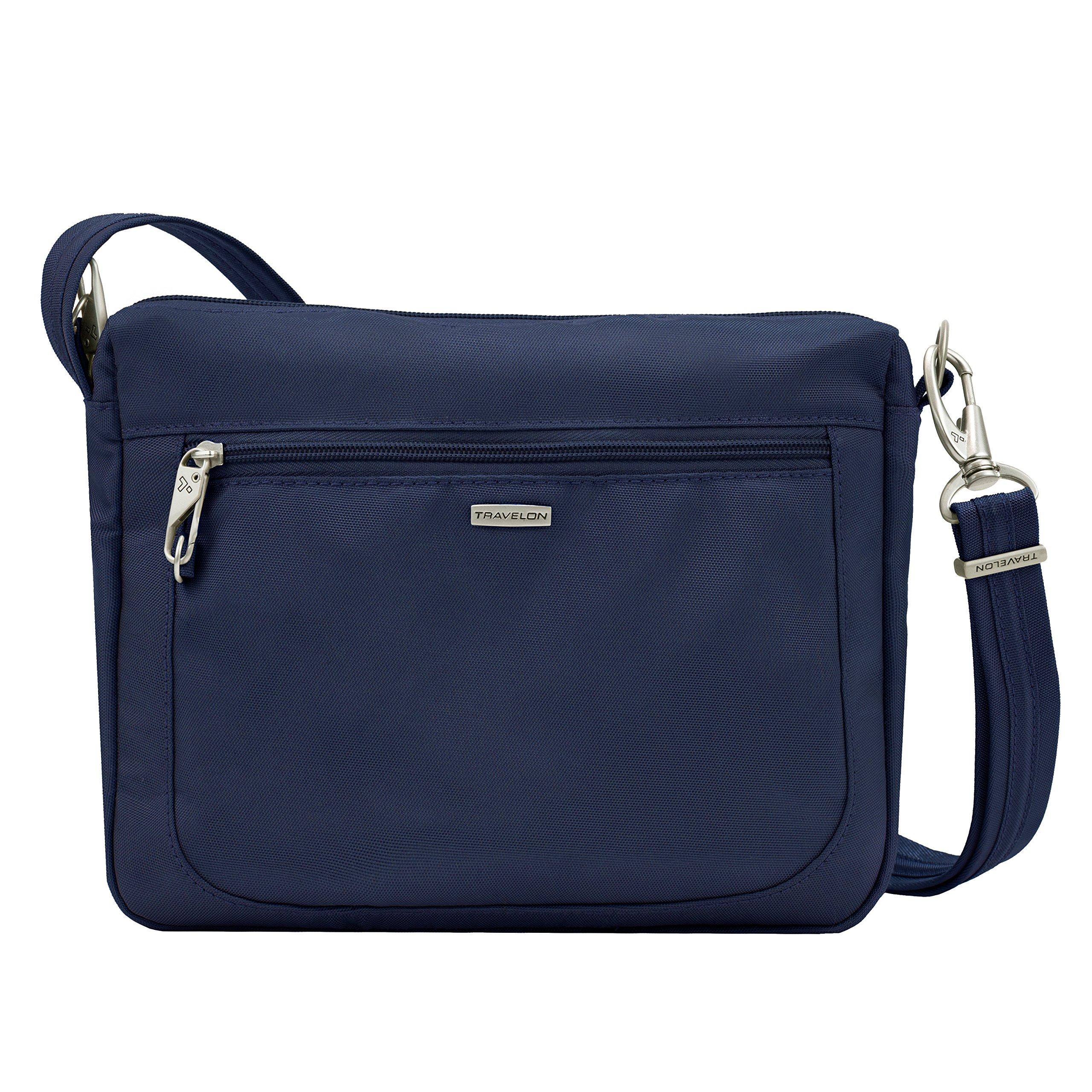 Travelon Anti-Theft Classic Small E/w Crossbody Bag, Midnight