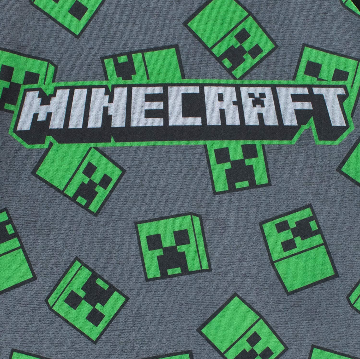 Minecraft Glitching Creeper Boys Long Pyjamas Set School Boys PJs PS4 PS5 Xbox Gamer Gifts Kids Birthday Gift Idea Childrens Clothes Official Merchandise