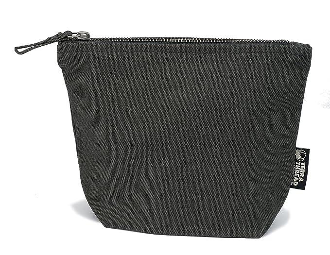 e13a8f44fd Amazon.com  Canvas Multi-function Organizer Case Zipper Closure.Organic  Cotton Cosmetic Bag  Clothing