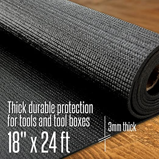 16x7 Feet Workbench Drawer Cabinet Tool Chest Reizen Tech Heavy Duty Tool Box Liner and Roller Tray Organized /& Tools Protected Thick 3mm Slip Resistant to Keep Garage Shelf Durable