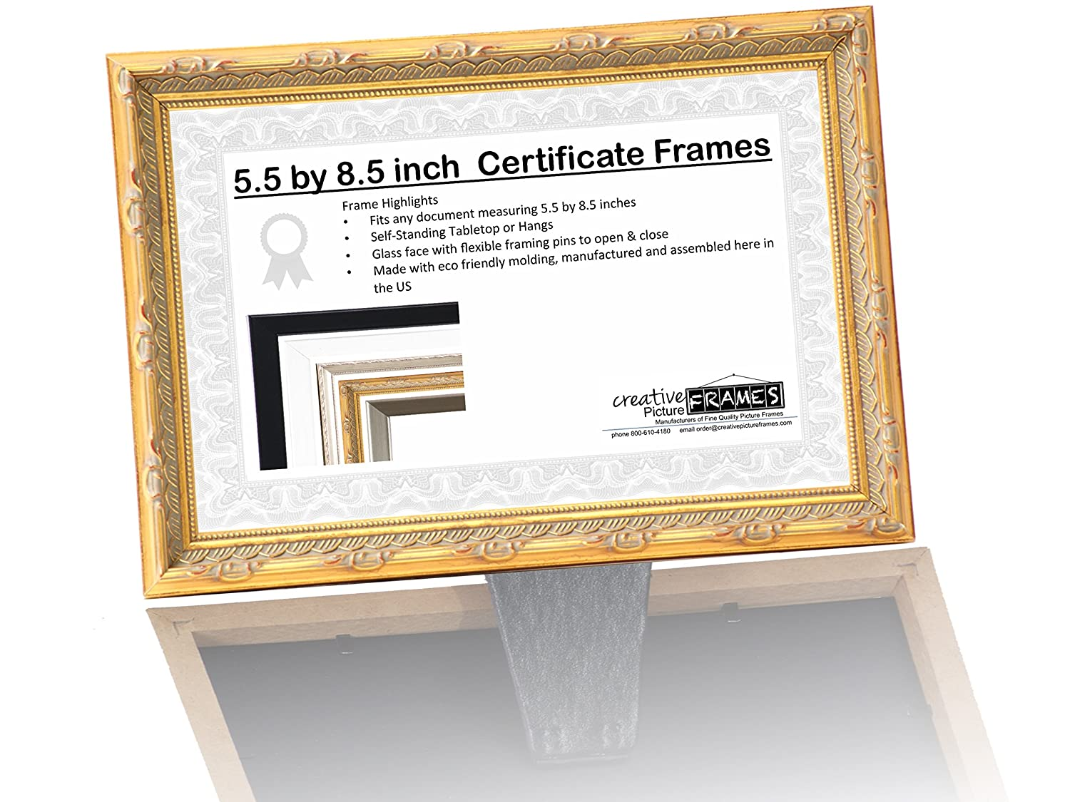 Amazoncom Professional Beautician License Frame 55 By 85 Inch