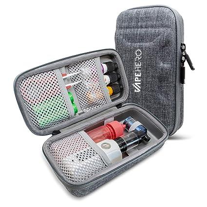 VapeHero® XL para Cigarrillo electrónico | Estuche para vaporizador para máx. 80ml de líquido y Accesorios | Apto para Grandes Mods | Resistente a ...