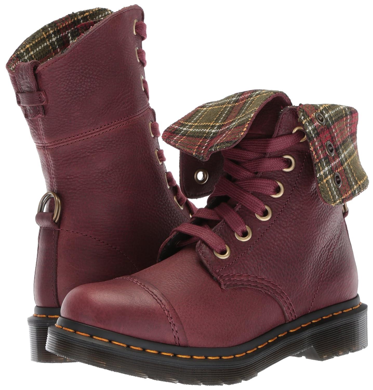 Dr. Martens Women's Aimilita FL Cherry Red Ankle Boot B072BG1DL3 4 Medium UK (6 US)|Cherry Red