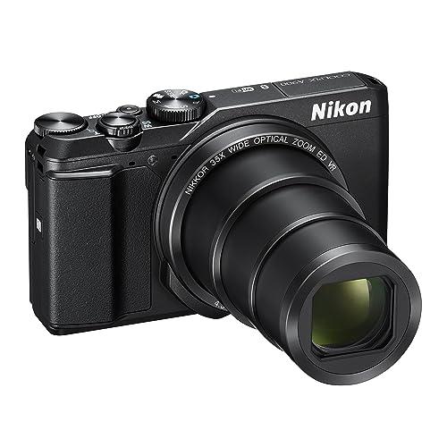 Nikon Coolpix A900 Fotocamera Digitale Compatta, 20,3 Megapixel, Zoom 35X, VR, Filmati 4K UHD, Bluetooth, Wi-Fi, Nero [Nital Card: 4 Anni di Garanzia]