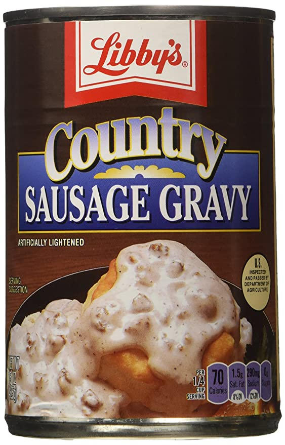 Amazon.com : Libbys Country Sausage Gravy (15 oz Cans) 3 Pack : Grocery &  Gourmet Food