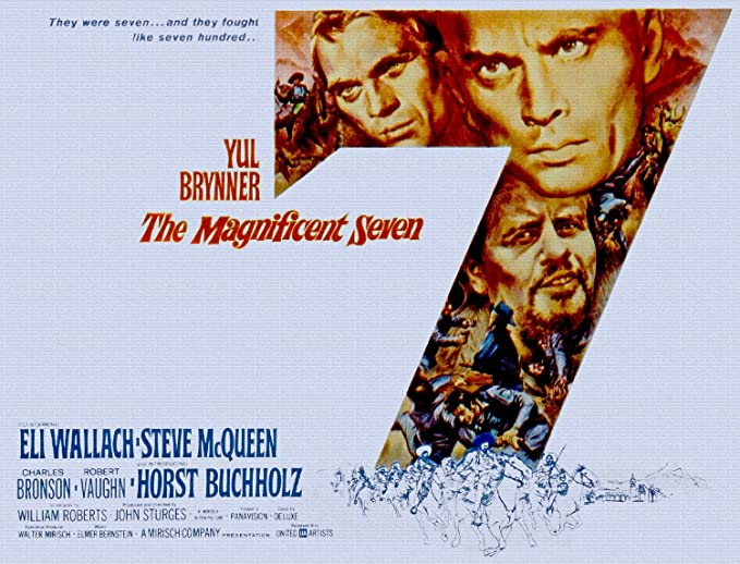 ODSAN Magnificent Seven, Yul Brynner & Steve Mcqueen ...
