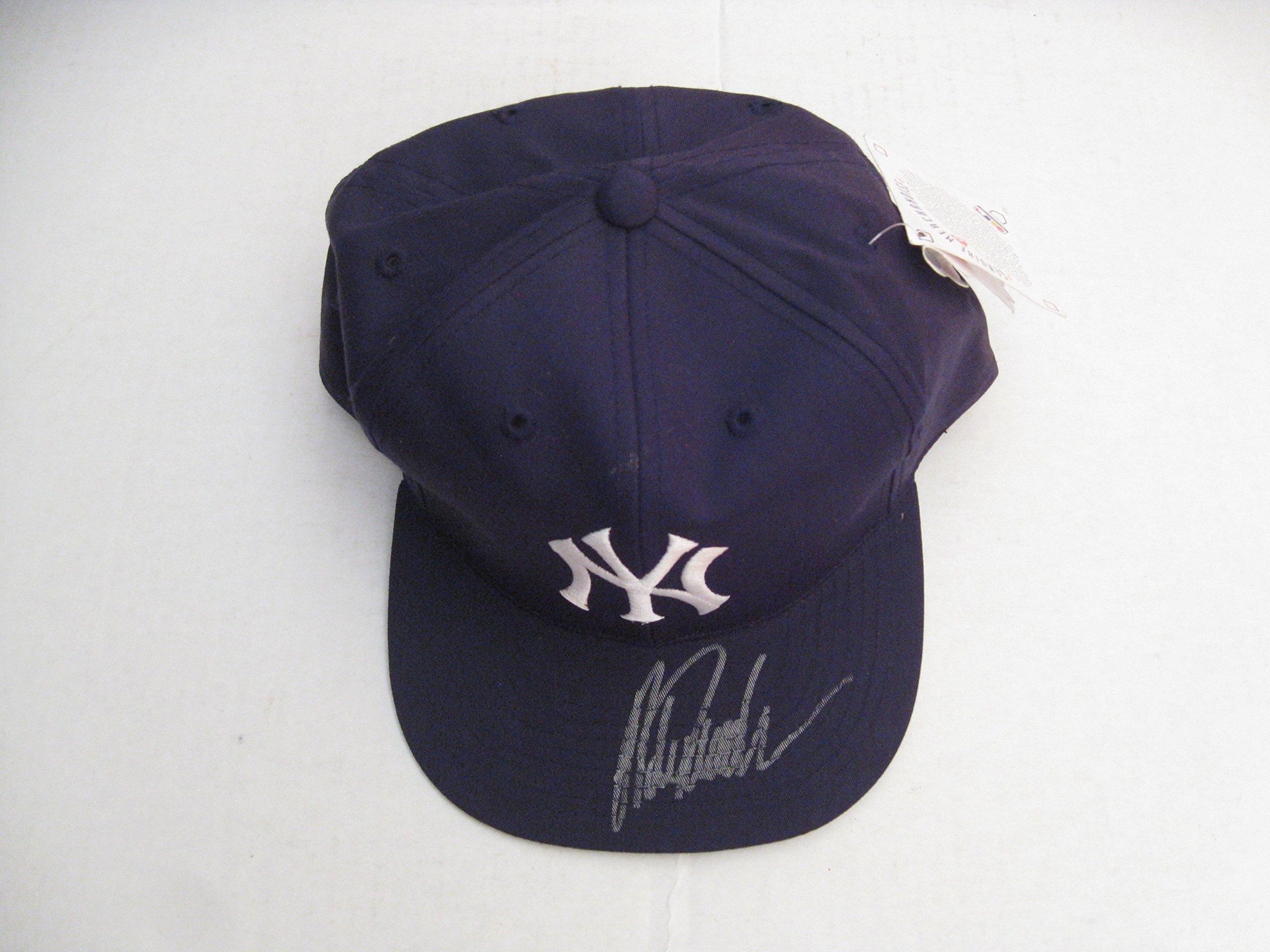 Jorge Posada Autographeed/Signed NY Yankees Hat COA