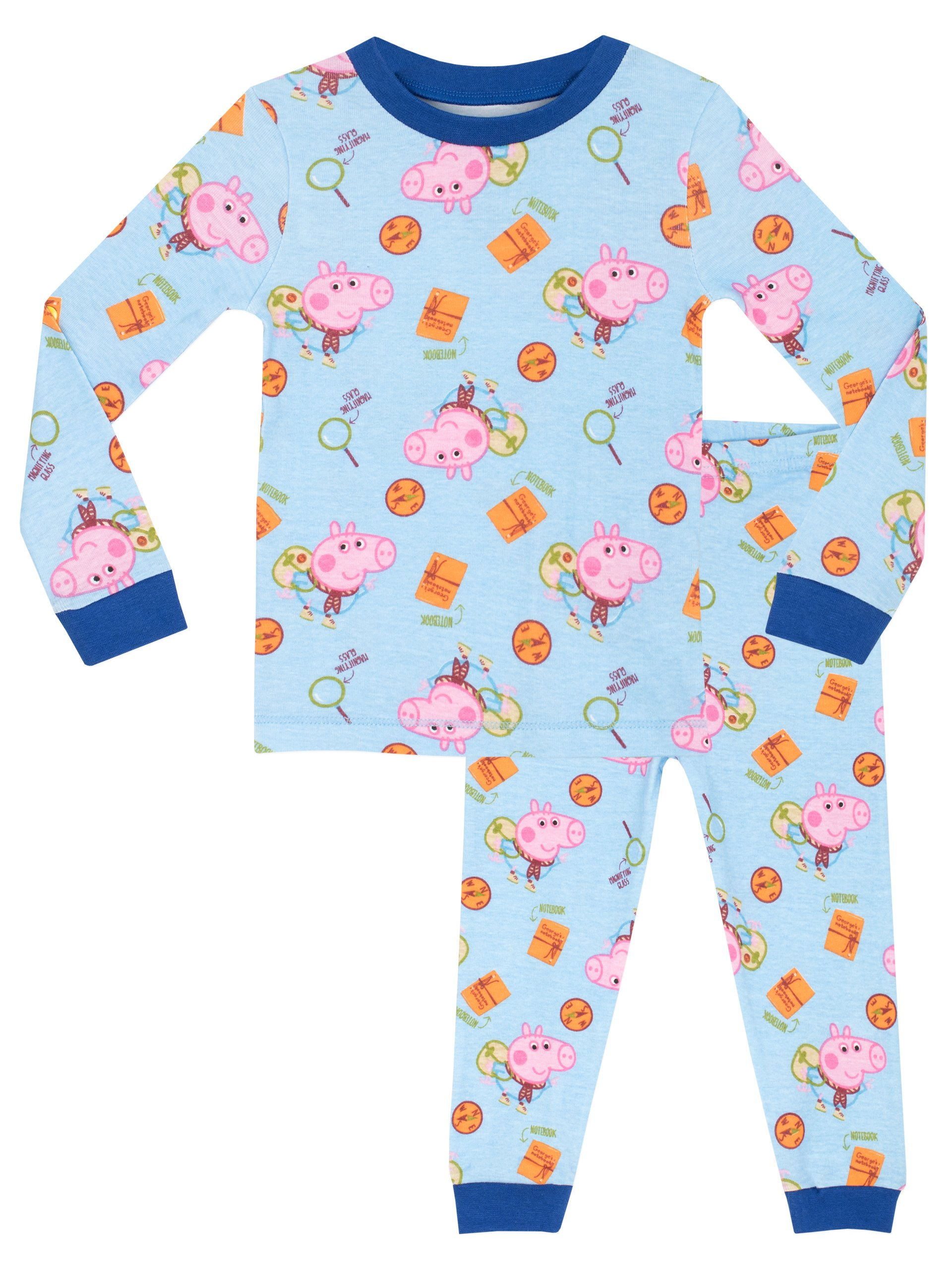 Peppa Pig Boys' George Pig Pajamas Size 6