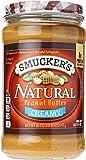 Smucker's Natural Creamy Peanut Butter, 26 oz