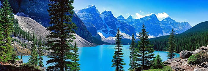 Amazon Com Moraine Lake Alberta Canadian Rockies Banff