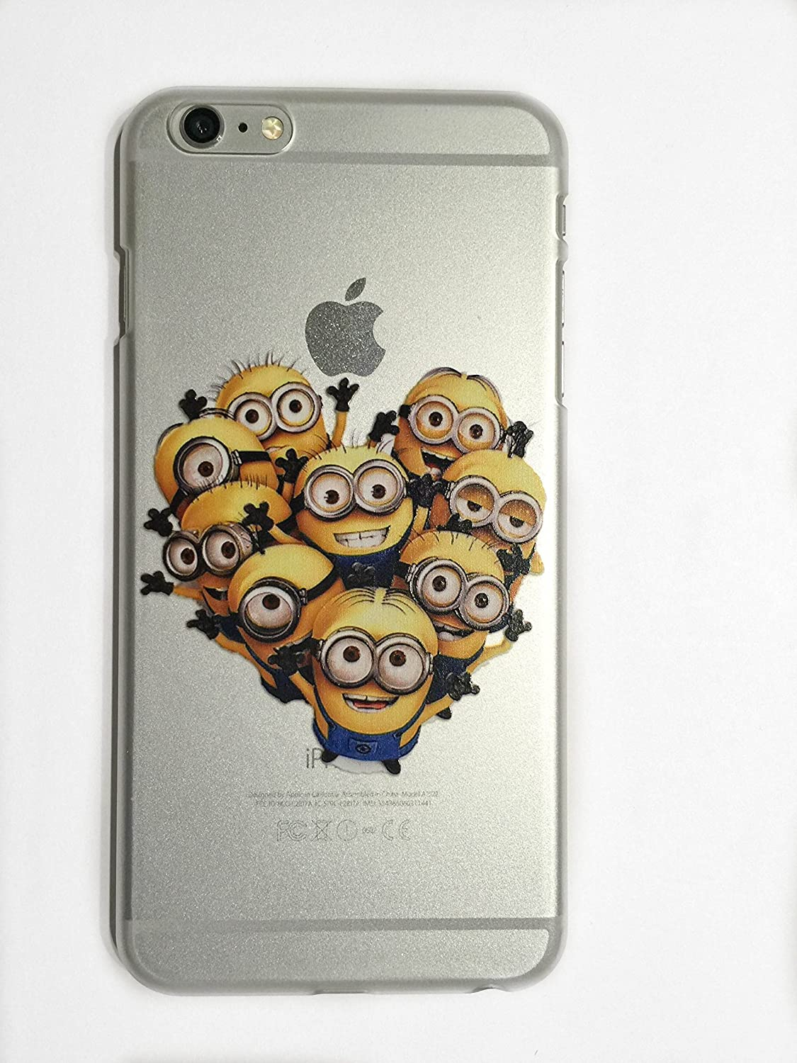 10b3bb943e 3. iphone 6 plus cases minions Review – 6/6s Plus (5.5) Group of Minions  Case Compatible with iPhone 6/6s Plus