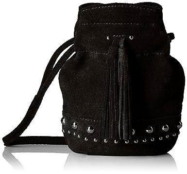 Amazon.com  The Fix Kirby Mini Studded Suede Bucket Crossbody Bag ... b2c1bf119c8df