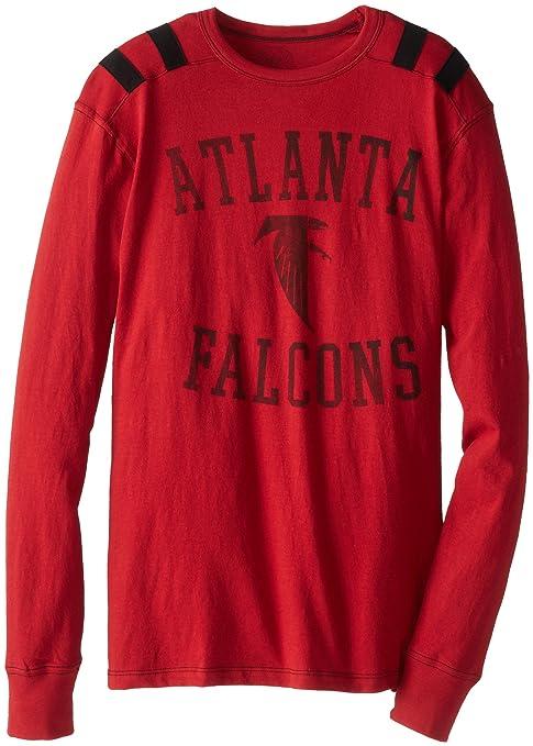 ddf2ae73 Amazon.com : NFL Atlanta Falcons Men's Bruiser Long Sleeve Tee ...